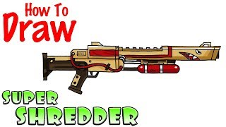 How to Draw the Bolt Action Sniper Rifle | Fortnite ...