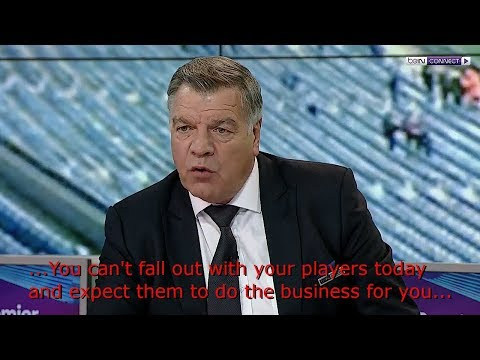 Sam Allardyce speaks about José Mourinho's Behaviour lately
