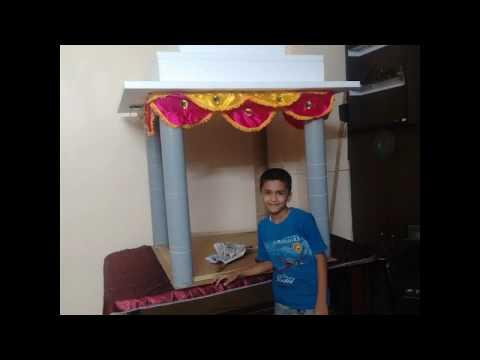 Home Ganpati Decoration Youtube