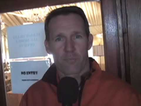 Dan Jansen Reporting on the Vancouver  Winter Olympics