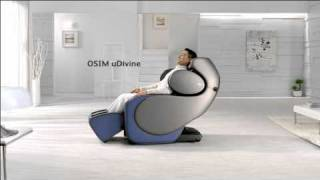 OSIM uDivine Massage Chair English TVC feat. Andy Lau