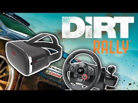 Dirt Rally VR - Deepoon E2 + Logitech Driving Force GT