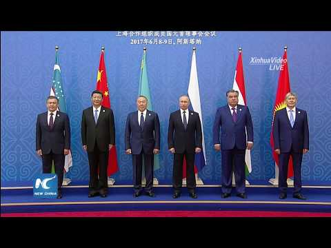 President Xi Jinping attends SCO Heads of State Council meeting