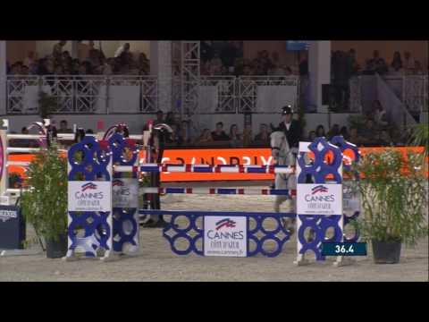 Gerco Schröder a Glock´s Cognac Champblanc – GP 160 cm – Videa Berlin Lions z GCT 2017 v Cannes