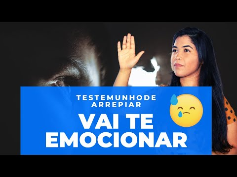 O Testemunho mais lindo que já vi em 2019😢 -1/Parte Priscila Cavalcante