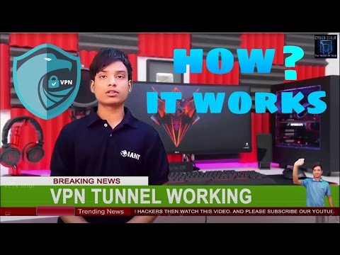 How The VPN ✈ Tunnel  Works