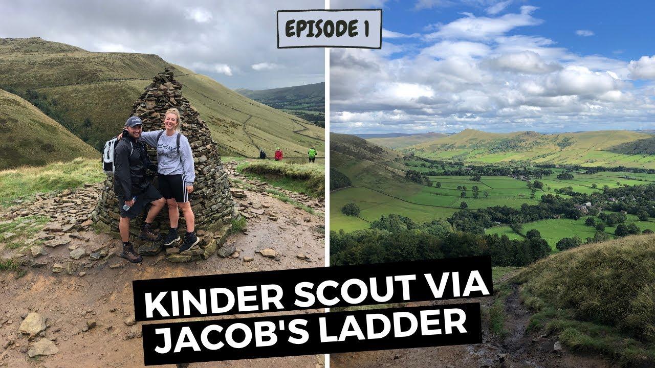 UK ROAD TRIP  | Hiking in the Peak District (Kinder Scout) Ep. 1