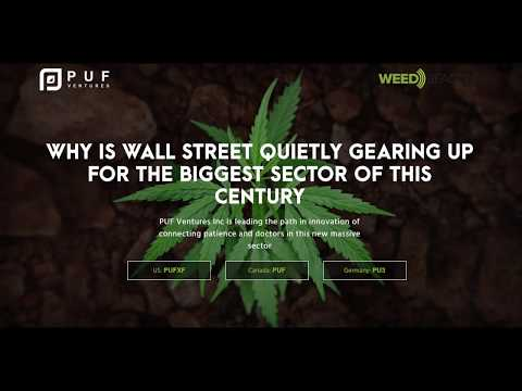 PUF VENTURES OTCPK:PUFXF Featured Marijuana Stock