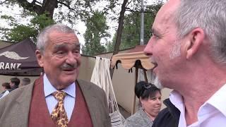 PRAHA-10.DOZVUKY HORŇÁCKÝCH SLAVNOSTÍ: donátor akce  Karel Schwarzenberg obdivoval a byl obdivován