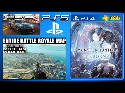 PS PLUS Free PS4 Games - CoD MW Battle Royale - PS5 News (Gaming & Playstation News) Rumors & Leaks