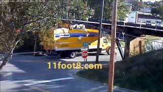 11Foot8 Bridge - Penske Crash Compilation