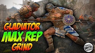 Rep 6 Gladiator Max Rep Grind W1D4 * Gear Showcase Video On My Channel *