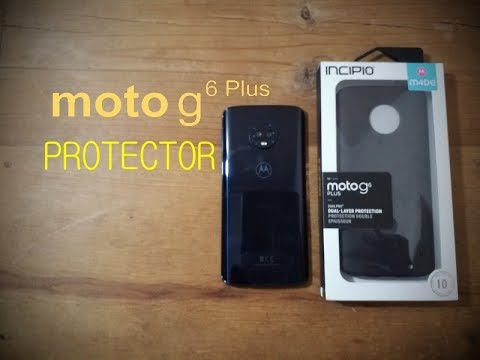 official photos 87f81 7f4d8 unboxing - revision - protector moto g6 plus