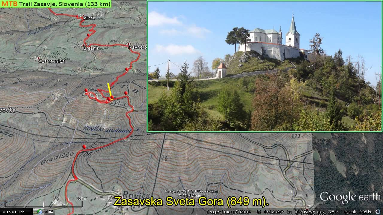 SLOVENIA ZASAVJE MTB TRAIL HD YouTube - Slovenia map hd