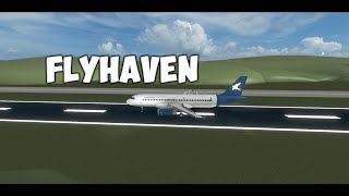 Cabin Crew | FlyHaven | Airbus A320-200 | ROBLOX