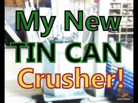 Bought A Tin Can Crusher (SORTA)