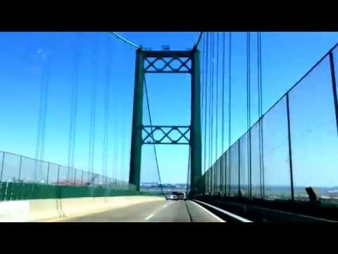 Vincent Thomas Bridge Seaside Fwy Eastbound Crossing 9-21-14