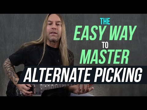 The Easy Way to Master Alternate Picking!