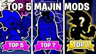 Top 5 Majin Mods in Friday Night Funkin'