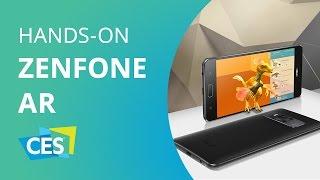 Asus Zenfone AR, o smartphone com 8GB (!!!) de RAM e suporte ao Tango [CES 2017]