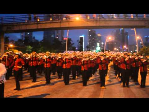 Tradición de Carnaval y Viva Panamá - Ensamble Juvenil Desfile de Antorchas ...