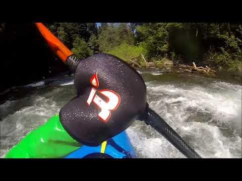 Sol Duc - Salmon Cascade To FR Bridge - Washington Whitewater Kayaking