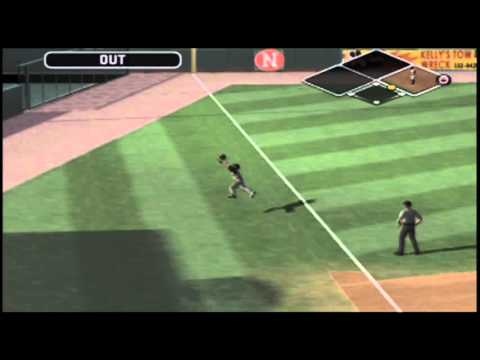 IOWA OUT - Erik Butterfield Makes Diving Catch In Foul Territory