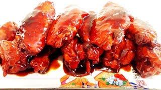 Китайская кухня.  Жареные крылышки по-китайски.