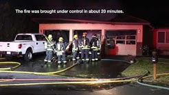 Fire destroys Washougal garage