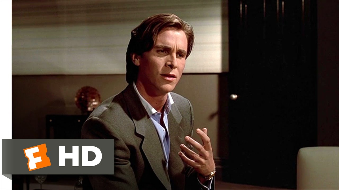 American Psycho 8 12 Movie Clip The Greatest Love Of All 2000 Hd