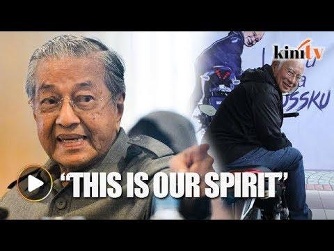 Najib: I improved Mahathir's projects, I didn't cancel them