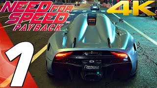 Need For Speed Payback - Gameplay Walkthrough Part 1 - Prologue [4K 60FPS ULTRA]