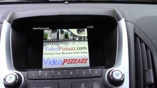 How To View Pictures On Chevy Equinox Dashboard Display