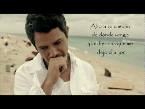 No Me Compares - Alejandro Sanz (Letra HD)