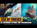 Sea of Thieves News: ALL Shipwright Customization Options/ Ship Customization in #SeaofThieves