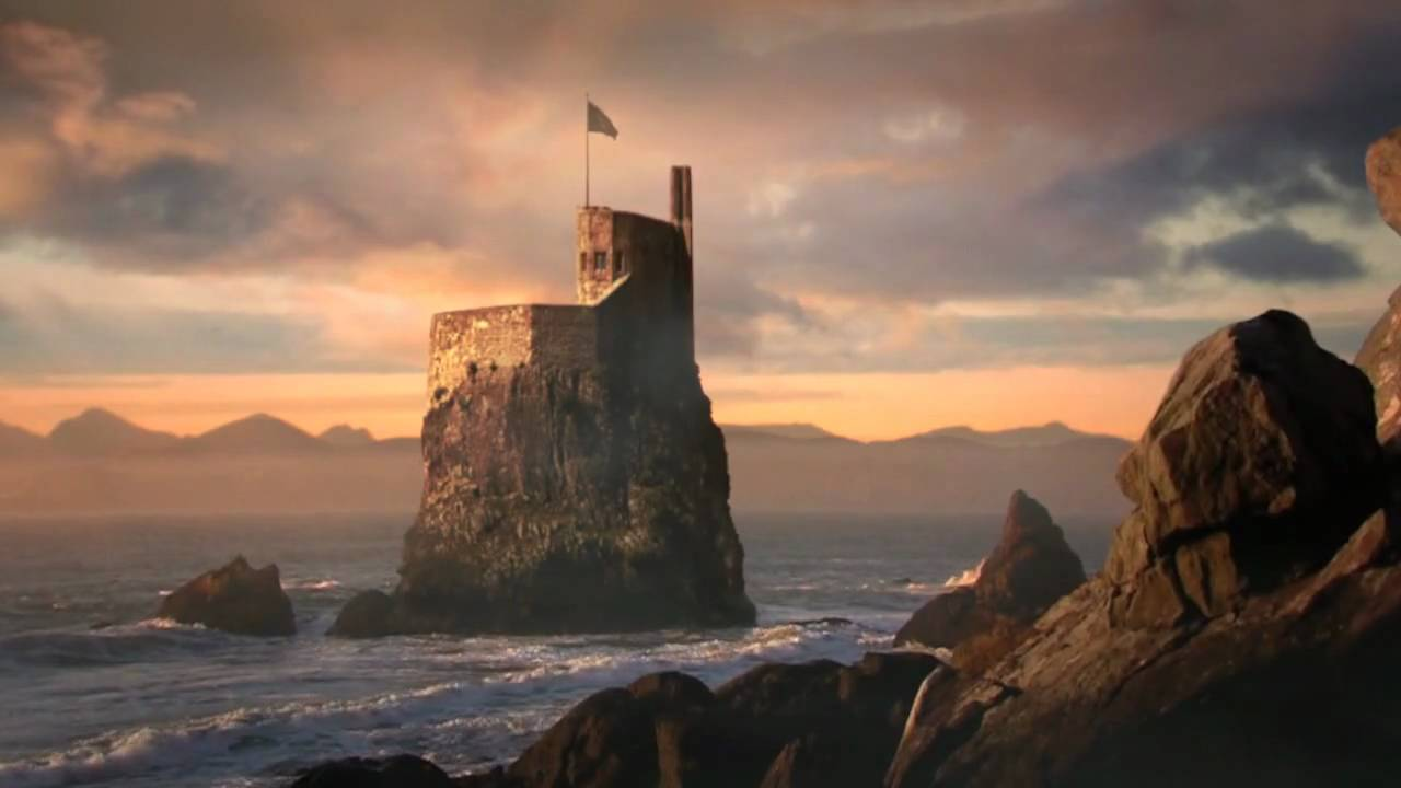 Wallpaper Hd Lord Of The Rings Lone Castle Nuke 5 2 Compositing Matte Painting Youtube
