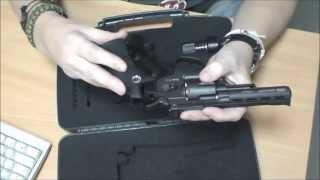обзор пневматического револьвера Gletcher SW R4