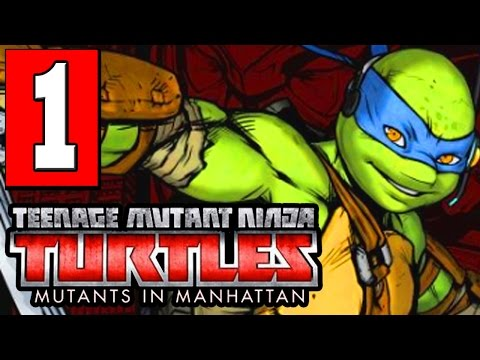 Teenage Mutant Ninja Turtles Mutants in Manhattan Walkthrough Part 1 Gameplay Lets Play Review