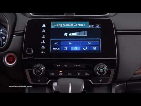 2017 Honda CR-V: Climate Control on Display Audio Models