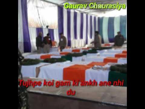 Pulvama C. R. P. F attack status video editing by Gaurav Chaurasiya