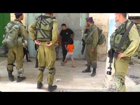 فيديو 1 من 5 - اعتقال الطفل وديع مسودة 5 أعوام 11/7/2013