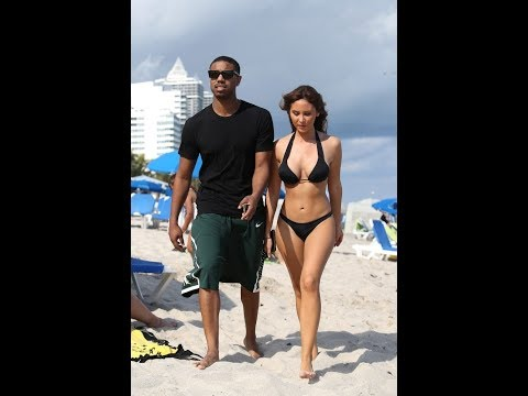 Michael B Jordan dates a non black woman and people are in disarray