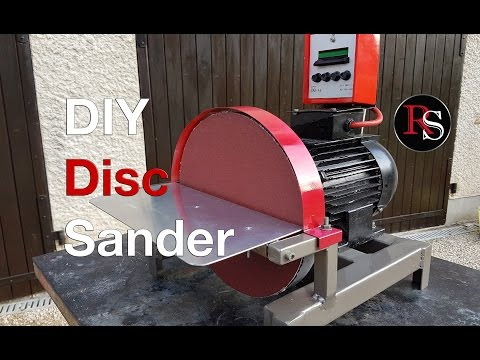 DIY - Making A Disc Sander Out of Scrap