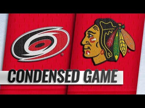 11/08/18 Condensed Game: Hurricanes @ Blackhawks