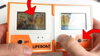 REPARATION GAME AND WATCH : BOUTONS ET FILTRE POLARISANT