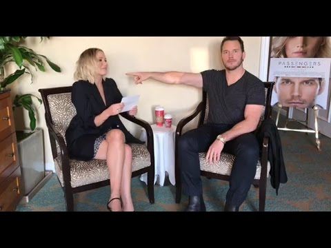 Passengers Movie Q&A with Jennifer Lawrence and Chris Pratt