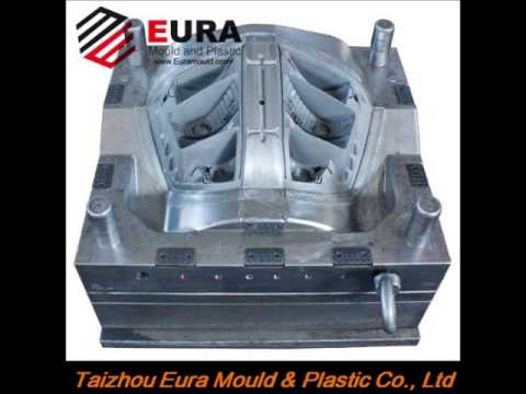 auto lamp mould Taizhou Eura Mould & Plastic plastic injection mould maker in China