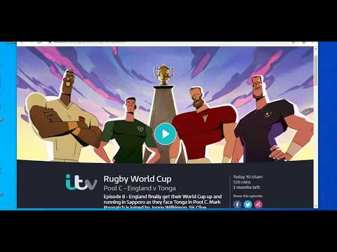 How To Watch ITV Rugby World Cup Abroad