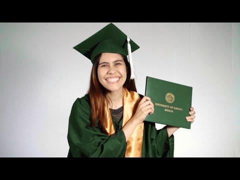UH Manoa 2017 graduates share fun messages of mahalo