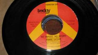 Debbie Taylor - No Deposit No Return & Too Sad To Tell